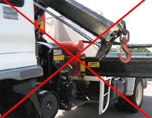 Unsafe truck