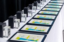 Certificates and trophies