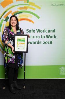 Category 7 winner – Rebecca Metcalfe
