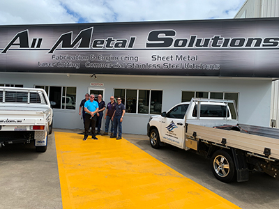 Gavan at All Metal Solutions