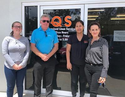 Gavan at Queensland Linen Services