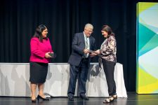 Category 8 winner – Griffith University receiving their award