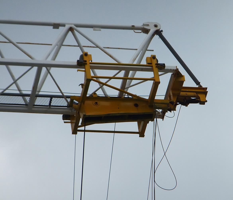 Photograph 2: Hook block trolley