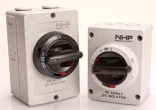 NHP branded DC isolators