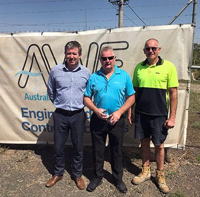 Gavan at Australian Water Engineers