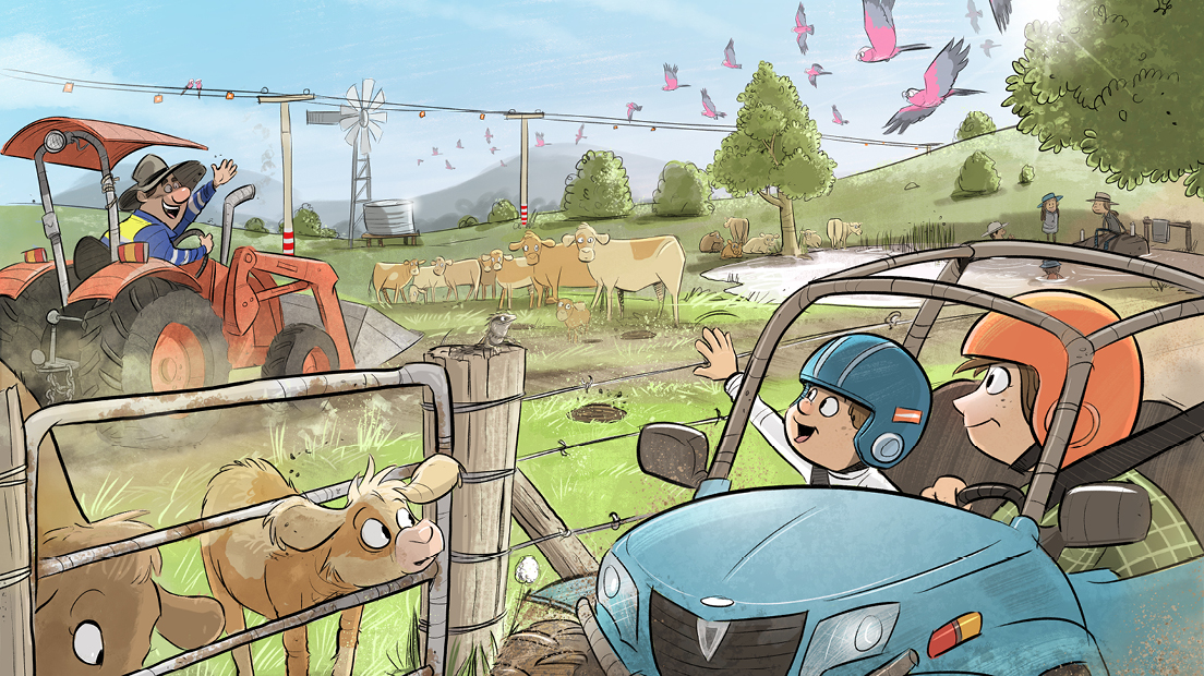 Farm safety calendar competition – electrical safety category