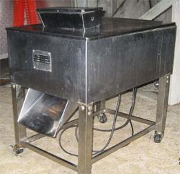 A meat slicing machine
