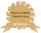 Winner of 2014 Return to Work Awards