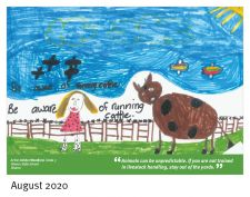 Winning entry Aug 2020 - Ashlyn Woodford, Sharon State School
