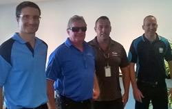 Gavan with some of the Stadiums Queensland team