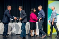 Energy Queensland receiving award
