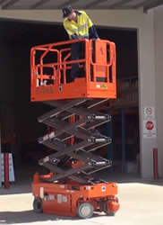 Dingli scissor lift S06-E model