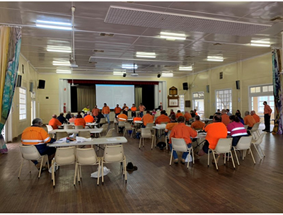 Jed at Barcaldine Regional Council