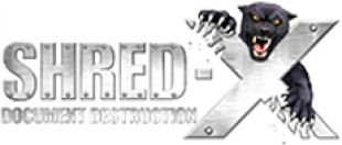 Shred-X logo