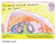 Winning entry Oct 2020 - Lincoln Hohn, St Maria Goretti Catholic Primary School