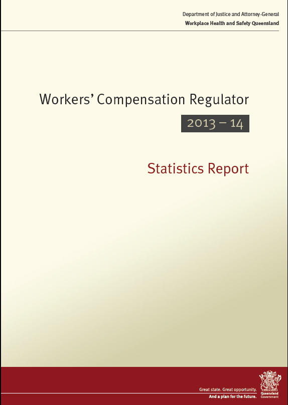 regulator-statistics-report-2013-14.pdf - WorkCover Queensland Forms and Resources
