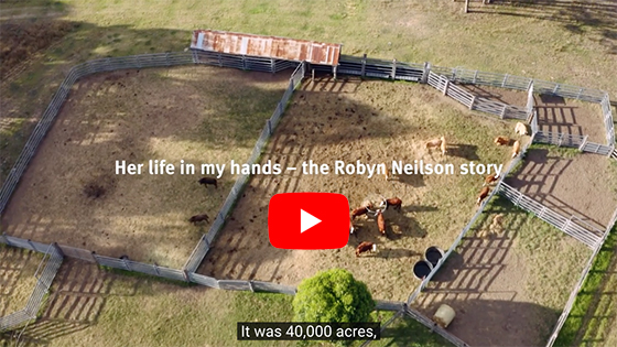 Robyn Neilson story - Her life in my hands
