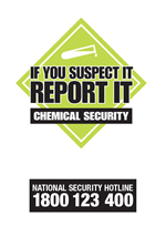 Chemicals of security concern