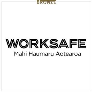 Worksafe New Zealand - Bronze sponsor